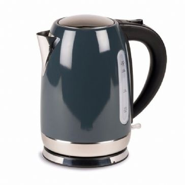 Kampa Dometic Tempest 1.7L Stainless Steel Electric Kettle - Grey